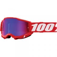 100százalék Accuri 2 Goggles neon piros