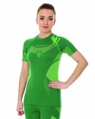 Brubeck Body Guard Dry női, rövidujjú technikai felső zöld