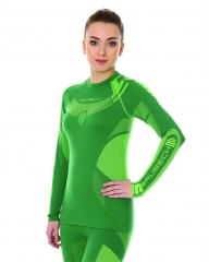 Brubeck Body Guard Dry, női, technikai felső zöld
