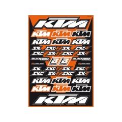 Blackbird matricaszett KTM
