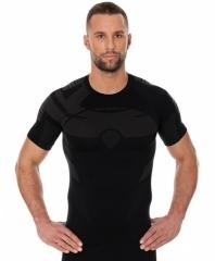 Brubeck Body Guard Dry férfi, rövidujjú technikai felső fekte