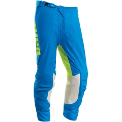 THOR S20 Prime Pro Strut cross nadrág kék-fluo