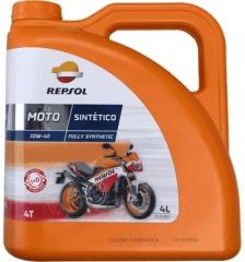 REPSOL MOTO SINTETICO 4T 10W40 4L