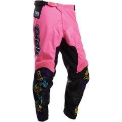 THOR Fast Boyz cross nadrág pink