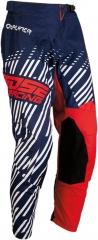 MooseRacing S20 Qualifer cross nadrág piros-fehér-kék