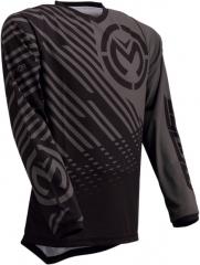 MooseRacing S20 Qualifer cross póló szürke-fekete