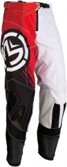 MooseRacing S20 M1 cross nadrág fekete-piros