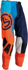 MooseRacing S20 M1 cross nadrág narancs-kék