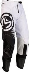 MooseRacing S20 M1 cross nadrág fekete-fehér