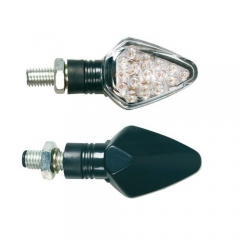 LAMPA Penta LED motorkerékpáros index párban - Fekete