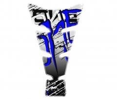 Tankpad kék-dekolált