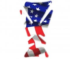Tankpad U.S.A. zászló
