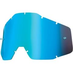 100százalék cserélhető tükrös, színes plexi Accuri, Racecraft, Strata szemüvegekhez