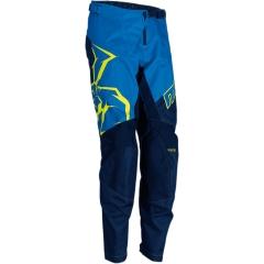 MooseRacing S2Y Qualifier gyerek cross nadrág kék-dekorált