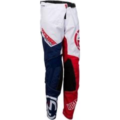 MooseRacing S2Y Qualifier gyerek cross nadrág piros-fehér-kék