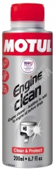 MOTUL Engine Clean Moto 200ML (motoröblítő adalék)