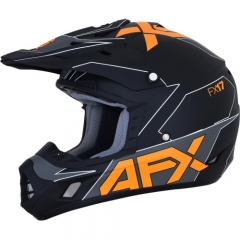 AFX FX-17 cross bukósisak matt fekete/narancs