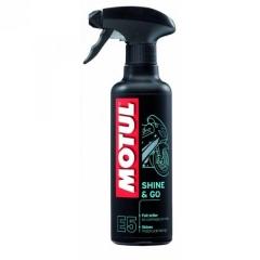 MOTUL SHINE and GO E5 400 ML (műanyag ápoló)