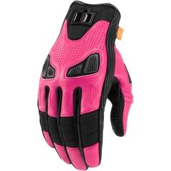 Icon Automag női bőrkesztyű pink