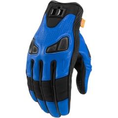 Icon Automag bőrkesztyű kék