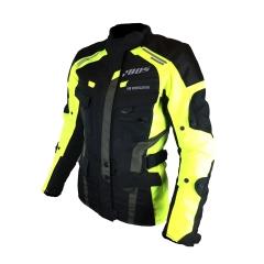 Kabát textil Azuma II fekete/neon