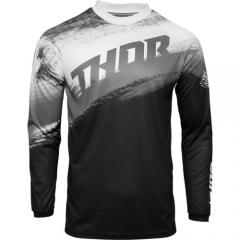 THOR Sector Vapor cross póló fekete-fehér