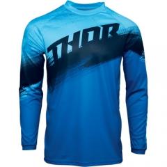 THOR Sector Vapor cross póló kék