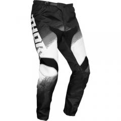 THOR Sector Vapor cross nadrág fekete-fehér