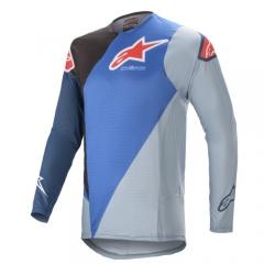 Alpinestars Supertech Blaze cross póló kék