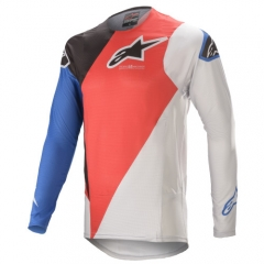 Alpinestars Supertech Blaze cross póló piros-kék