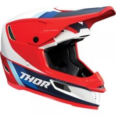 Thor Reflex Apex MIPS cross bukósisak piros-fehér-kék