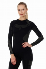 Brubeck Body Guard Dry, női, technikai felső fekete
