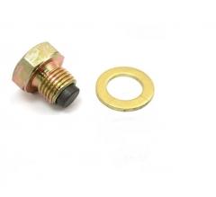 JMP Mágneses olajleeresztő csavar  M14X1,25 tömítő gyűrűvel