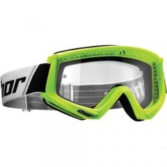 Thor Combat cross szemüveg fluo zöld/fekete