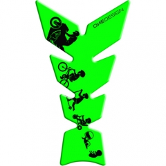 Tankpad Soft Touch zöld