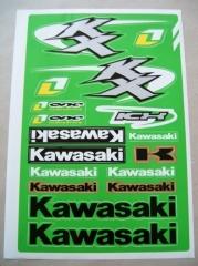 Univerzális matrica szett 'Kawasaki'