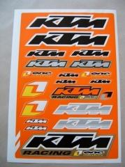 Univerzális matrica szett 'KTM'