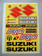 Univerzális matrica szett 'Suzuki'