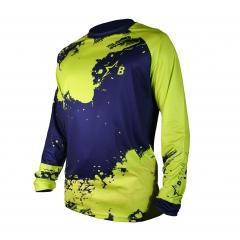 THOR Sector Chevron cross póló zöld-fehér-fekete