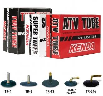 Kenda 21-80/-100  TUFF TUBE TR-4, erősített gumibelső egyenes szeleppel