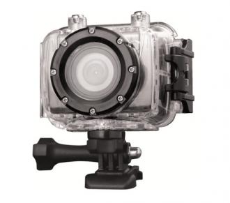 AEE SD20 Full HD sisakkamera vízhatlan tokkal, rögzitőszettekkel