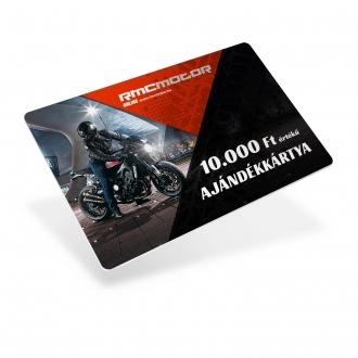 RMC Motor 10.000Ft AJÁNDÉKKÁRTYA
