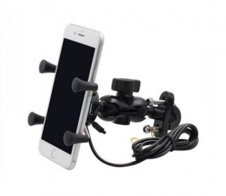 X befogós, univerzális telefontartó 3 féle rögzítőszettel