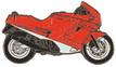 Jelvény Ducati Paso piros