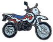 Jelvény KTM LC4 620 ´96  fehér/lila