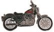 Jelvény Harley-Davidson Sportster 883XLH piros