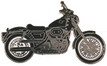 Jelvény Harley-Davidson Sportster 883XLH fekete
