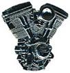 Jelvény Harley-Davidson Motor