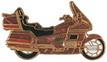 Jelvény Honda Gold Wing 1500 TC arany