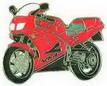 Jelvény Honda VFR750 F 94 Piros